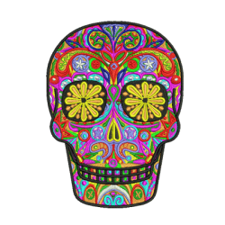 Sugar Skull Embroidery Logo